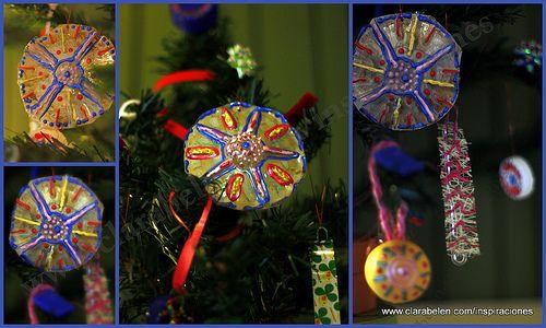Manualidades para ni os c mo hacer adornos de navidad for Manualidades para hacer adornos de navidad