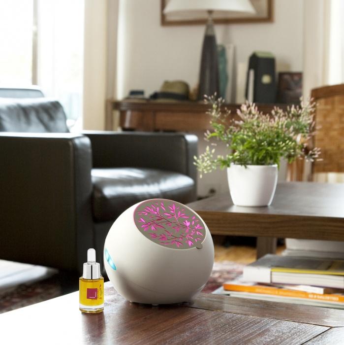 Les diffuseurs de fragrances Altearah Bio.  Pour donner une note colorée à votre intérieur.
