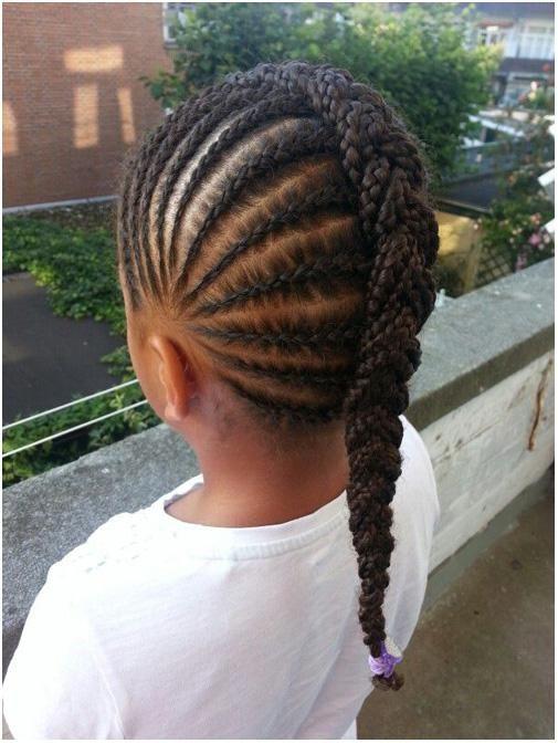 Pleasant 1000 Ideas About Black Little Girl Hairstyles On Pinterest Short Hairstyles For Black Women Fulllsitofus