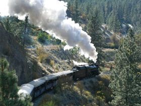 Okanagan Sightseeing Tour - Kettle Valley Steam Railway
