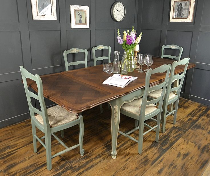 50 Cool And Creative Shabby Chic Dining Rooms: 64 Best Images About Our 'Dining Table & Chairs' On