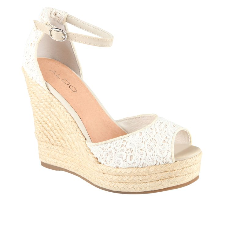 Wedges. Wedge sandals are the official shoe mascot for spring and summer. These shoes save lives when the weather heats up. They are like heel you can wear everyday, and the cork design gives a more fun and natural vibe.