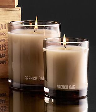Perfect Candles for Fall: Restoration Hardware French Oak