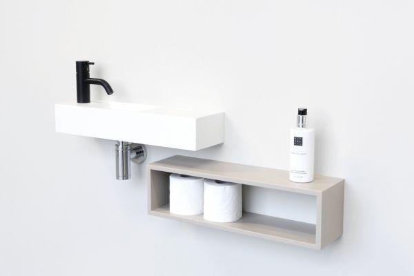Studio Marike Andeweg, het gezicht achter NOW, wilde de mogelijkheid om badkamers en toiletruimtes helemaal af te maken met hippe 'NietAlleenWitte' badkameraccessoires.