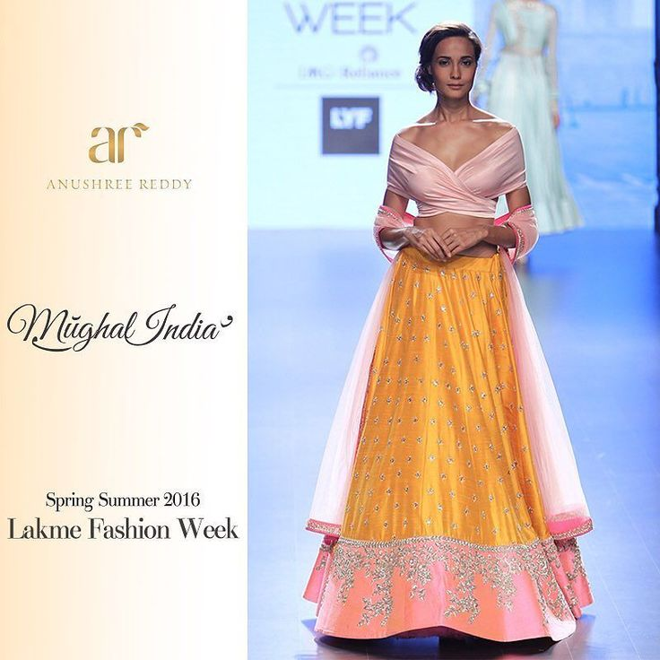 Revealing our looks from #MughalIndia our Spring Summer 2016 Collection at Lakmé Fashion Week. by anushreereddyofficial