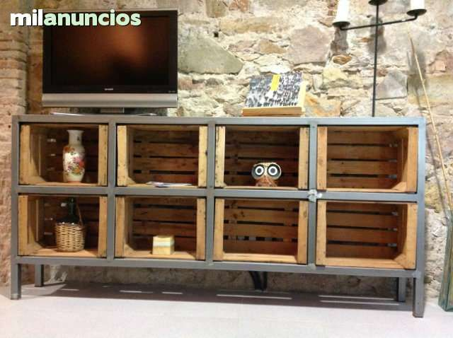 1000 images about caisse meuble t l id es on for Cajas madera fruta decoracion