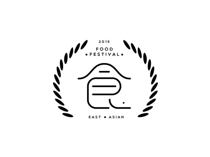 Behance :: Editing 2015 East Asian Food Festival