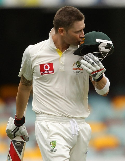 Michael Clarke took over from Ricky Ponting as Australia captain and led from the front, scoring tons against South Africa and New Zealand (*source unknown)