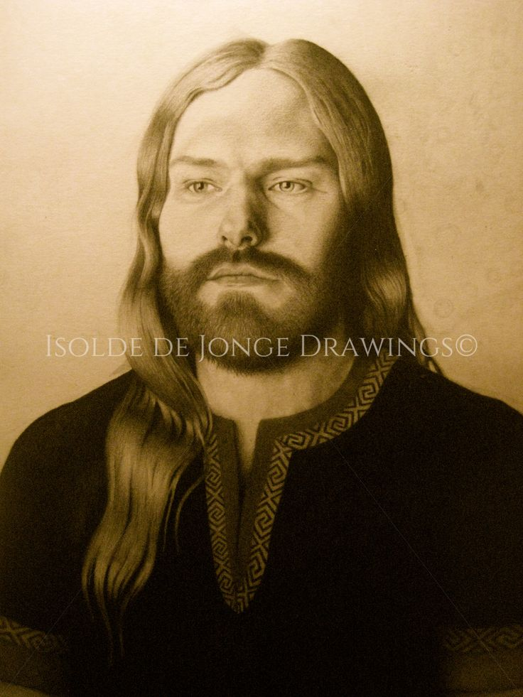"""Thor"". Pencil on paper. 2013."
