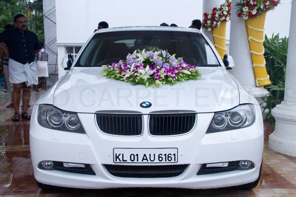 Bmw Car For Wedding Car Decor By Red Carpet Events At Camelot