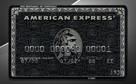 American Express Black Card.