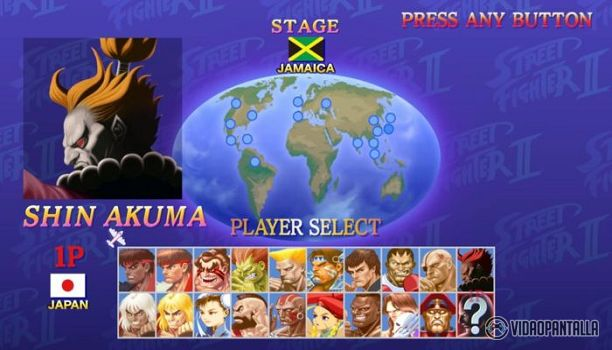 Shin Akuma  En la Comic Con de San Diego Capcom ha compartido con los fans de Ultra Street Fighter II: The Final Challengers título de Nintendo Switch unas claves para desbloquear al personaje secreto Shin Akuma. Esta versión del luchador es más rápido y fuerte pero no puede usarse en batallas multijugador tanto en modo local como online.  Quieres hacerte con Shin Akuma? Sigue estos pasos:  Seleccionar a Ryu cancelar selección en Color 1  Seleccionar a Ken cancelar selección en Color 9…