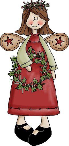 CHRISTMAS ANGEL CLIP ART