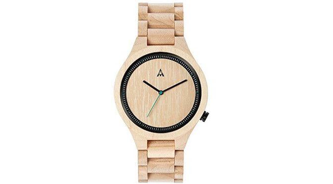 Reloj Analógico Mam Original para hombres hecho con madera de Arce | Moda electrodomésticos electrónica teléfonos juguetes