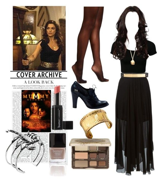 """Evie O'connell cosplay"" by d-cuevas ❤ liked on Polyvore featuring Étoile Isabel Marant, Jo No Fui, Hue, Argento Vivo, Too Faced Cosmetics, Butter London, Kenneth Cole, Glenda López and themummyreturns"