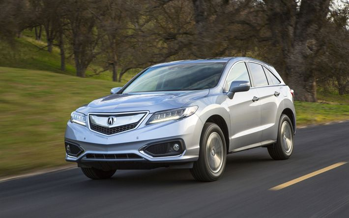 Download wallpapers Acura RDX, road, 2019 cars, crossovers, new RDX, Acura