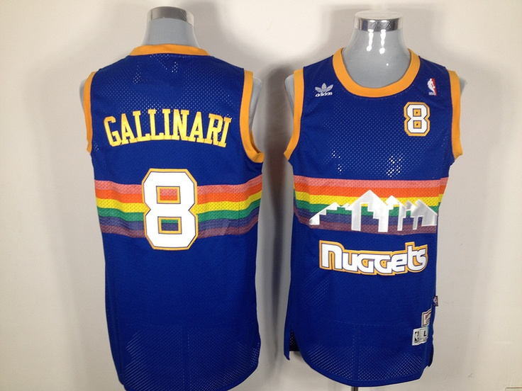 Denver Nuggets #8 Gallinari nba jerseys ID: 415 $20