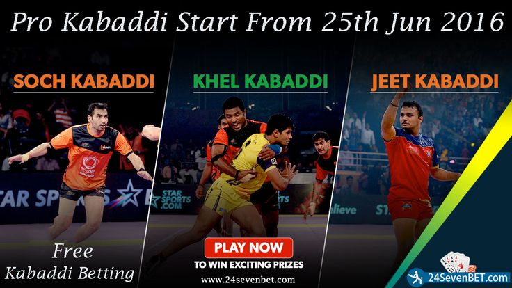 Pro #kabaddi league betting. Place #Free Bet on Pro Kabaddi League and Win Amazing #Prizes Online Create Free Account and Start Betting Today at 24sevenbet