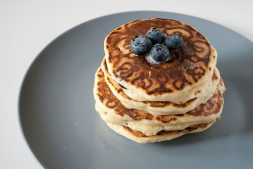 Pancake with blueberry - Alessi signs