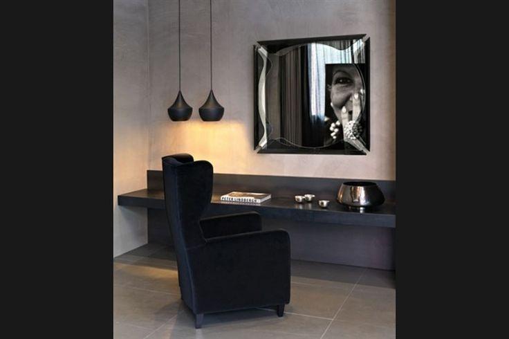Design Spiegel GALLERY | FIAM | Italian design | GlazenDesignTafel.nl | Design by Marco Acerbis | Interior design | vidre glastoepassingen, Leiden