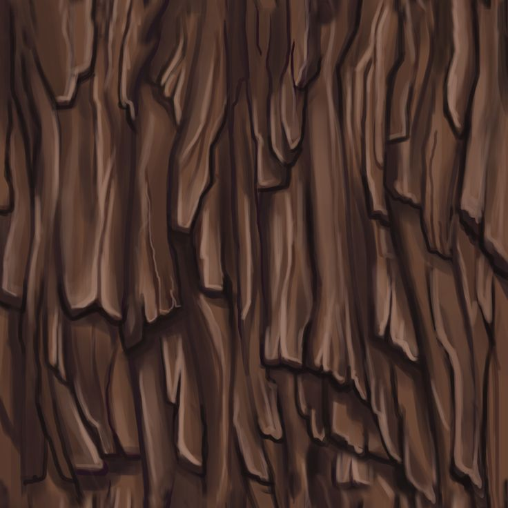 Bark - Handpainted textures