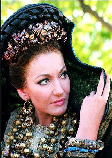 Maria Callas in Pier Paolo Pasolini's  Medea, 1969.