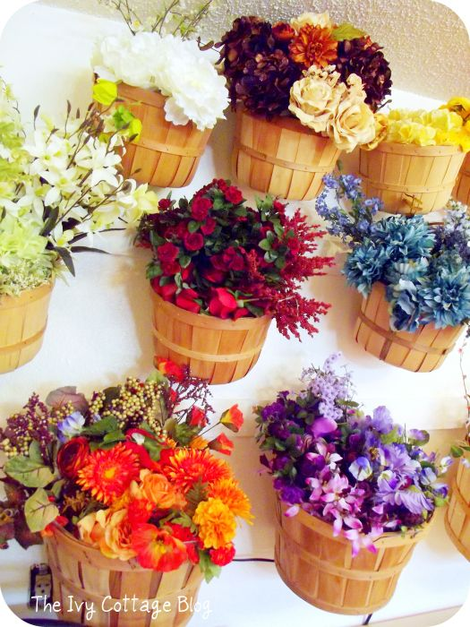17 best images about craft room on pinterest ikea office for Fake flowers for crafts