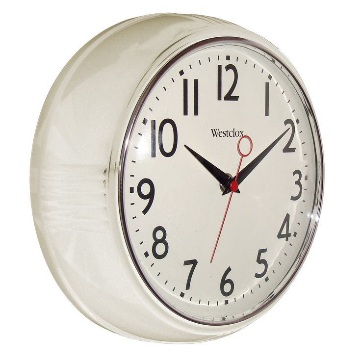 Bedroom Small Wall Clocks White Home Goods : Free Shipping on orders over $45 at Overstock.com - Your Home Goods Store! Get 5% in rewards with Club O!