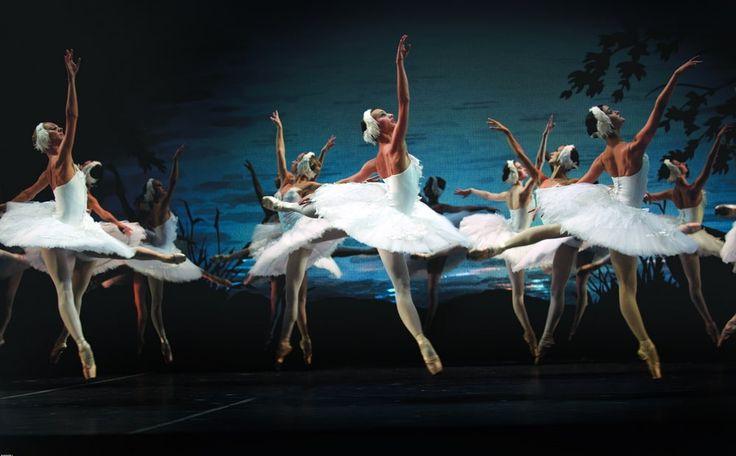 """Swan Lake"" atthe Mikhailovsky Theatre"