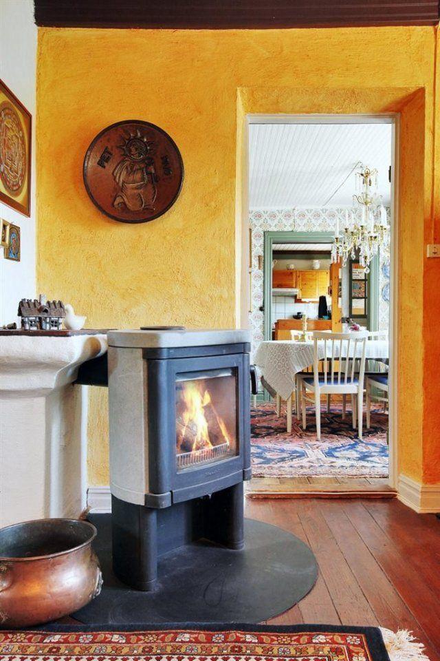 Log Burner Fireplace Modern