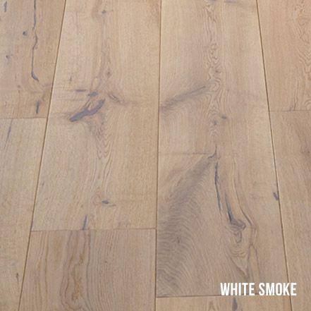 Heartridge Engineered Timber Flooring in Rustic Oak, White Smoke
