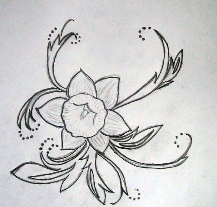 26 best daffodil tattoo images on pinterest daffodil flower tattoos daffodil tattoo and daffodils. Black Bedroom Furniture Sets. Home Design Ideas