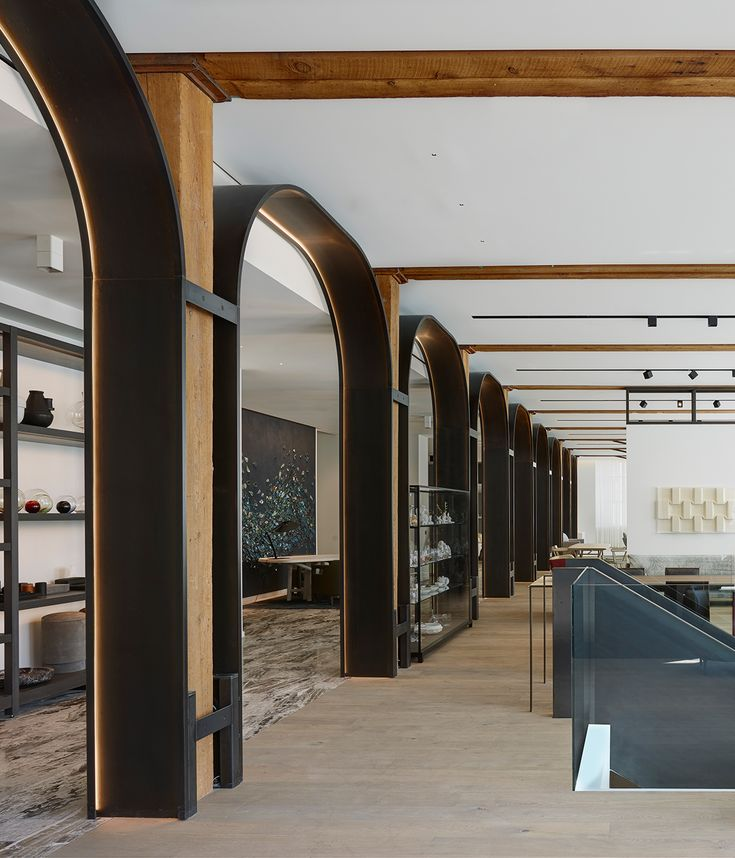 Avenue Road has a new Vancouver retail space that houses contemporary design and architectural flower store inside a a century-old industrial building