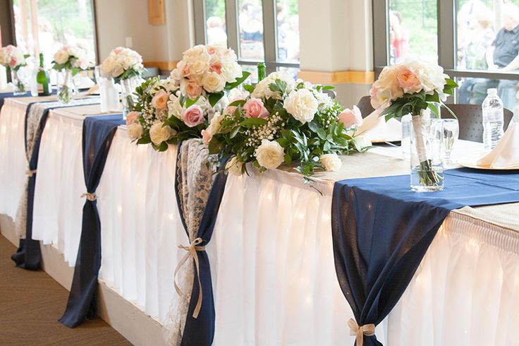 navy blue wedding table decorations 1000 ideas about navy blue table runner on 6128