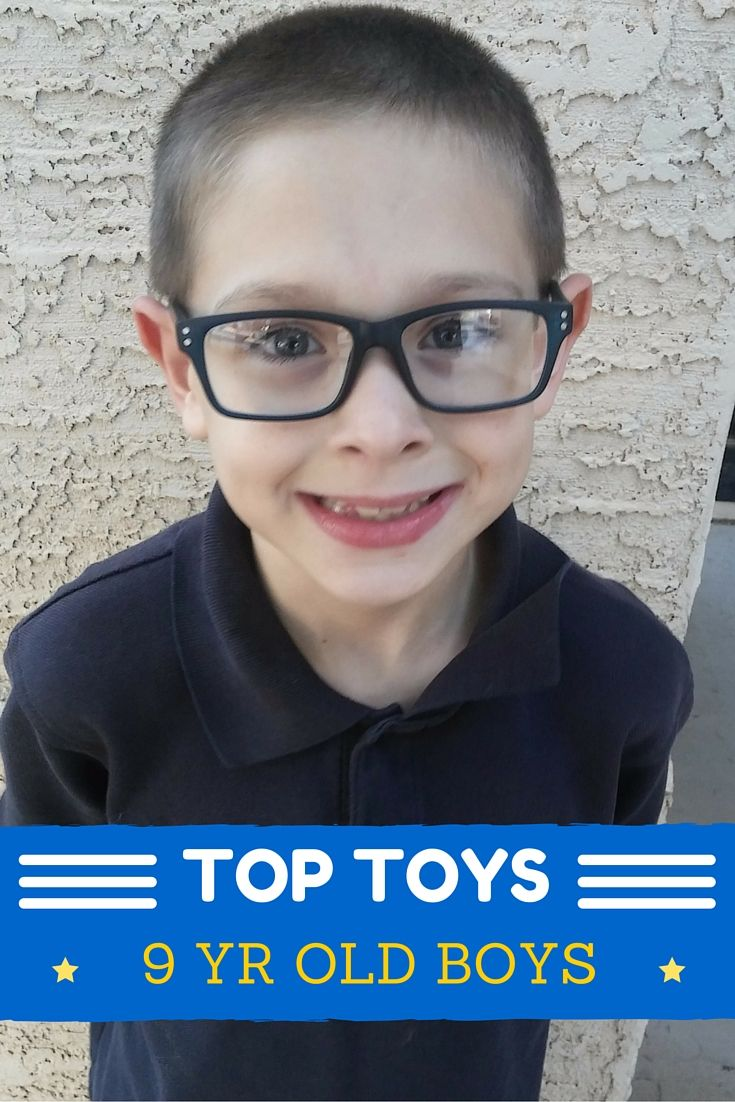 Here is a list of really popular presents for 9 year old boys! These are the top toys, best gifts for nine year old boys.  Christmas presents and birthday gifts are covered if you're a 9 yr old boy!