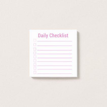 Более 25 лучших идей на тему «Daily checklist» на Pinterest - daily checklist