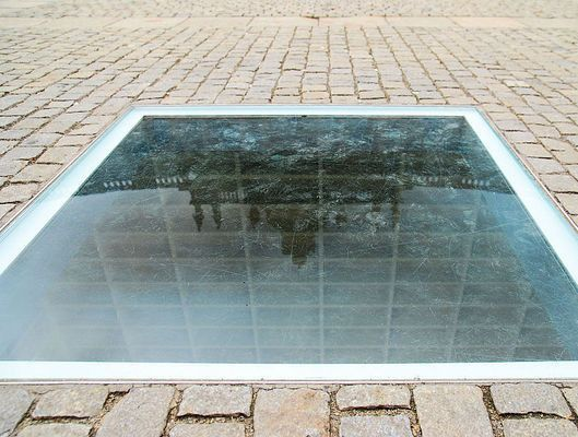 """The Bebelplatz The site of the famous Nazi book burning campaign of 1933 remembers its """"Night of Shame"""""""