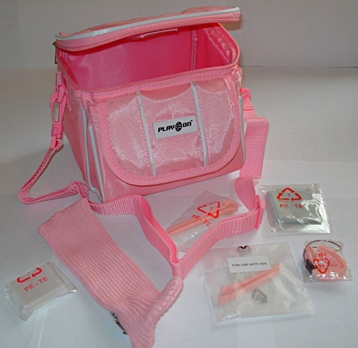 Brand New & Boxed Pink Nintendo DS Lite/DSi/DSi XL/3DS/3DS XL Travel Bag Carry Case LImited Stock