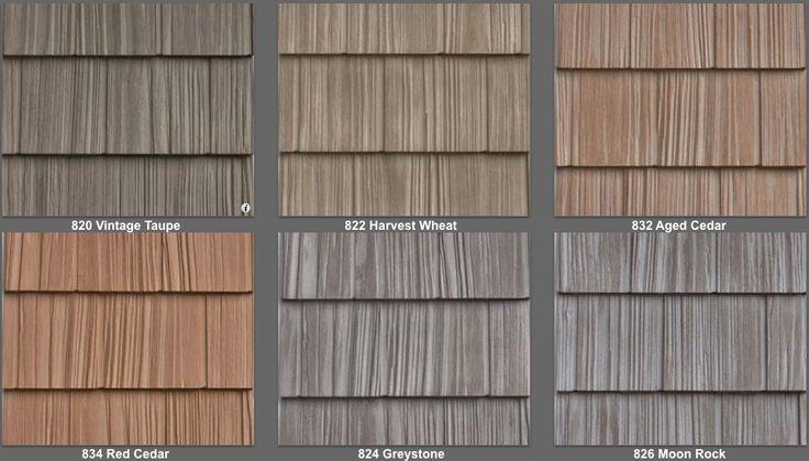 Vinyl Shake Siding Colors | Split Shake Vinyl Siding Look and Feel of Real Cedar Shake New Box