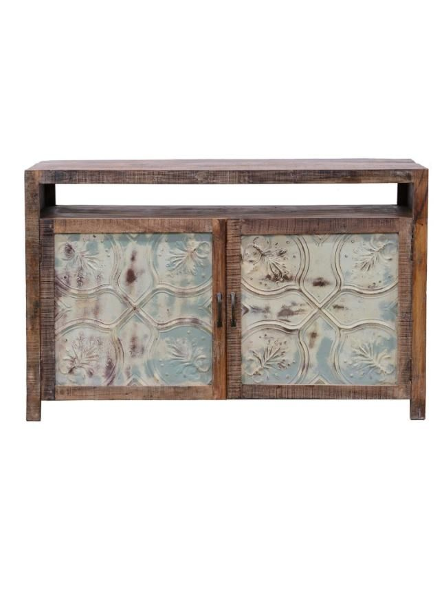 Odense 58″ Entertainment Console – Teal
