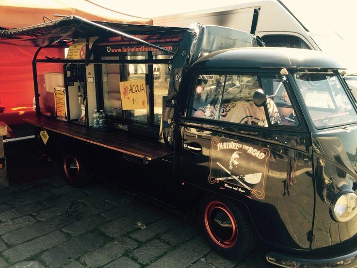 Farinella on the road #streetfood in #LaSpezia