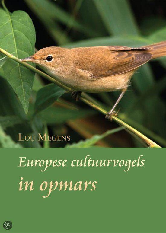 Europese cultuurvogels in opmars is een intrigerend en leerzaam boek over het houden en kweken van Europese (insectenetende) cultuurvogels. Een aantal soorten worden besproken, omschreven in hun natuurlijke habitat en de kweek als Europese cultuurvogel wordt verder uitgediept door middel van persoonlijke kweekverslagen.