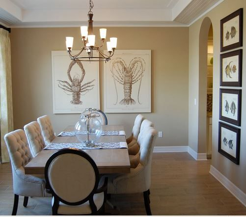 Nautical Dining Room Inspiration