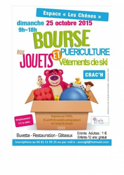 affiche bourse aux jouets et a la puericulture vide greniers pinterest. Black Bedroom Furniture Sets. Home Design Ideas