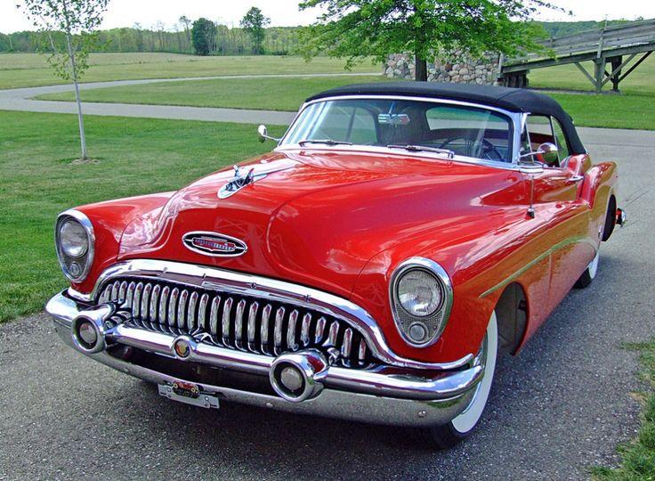 The 1953 Buick Skylark. One of the most beautiful objects every forged by man.