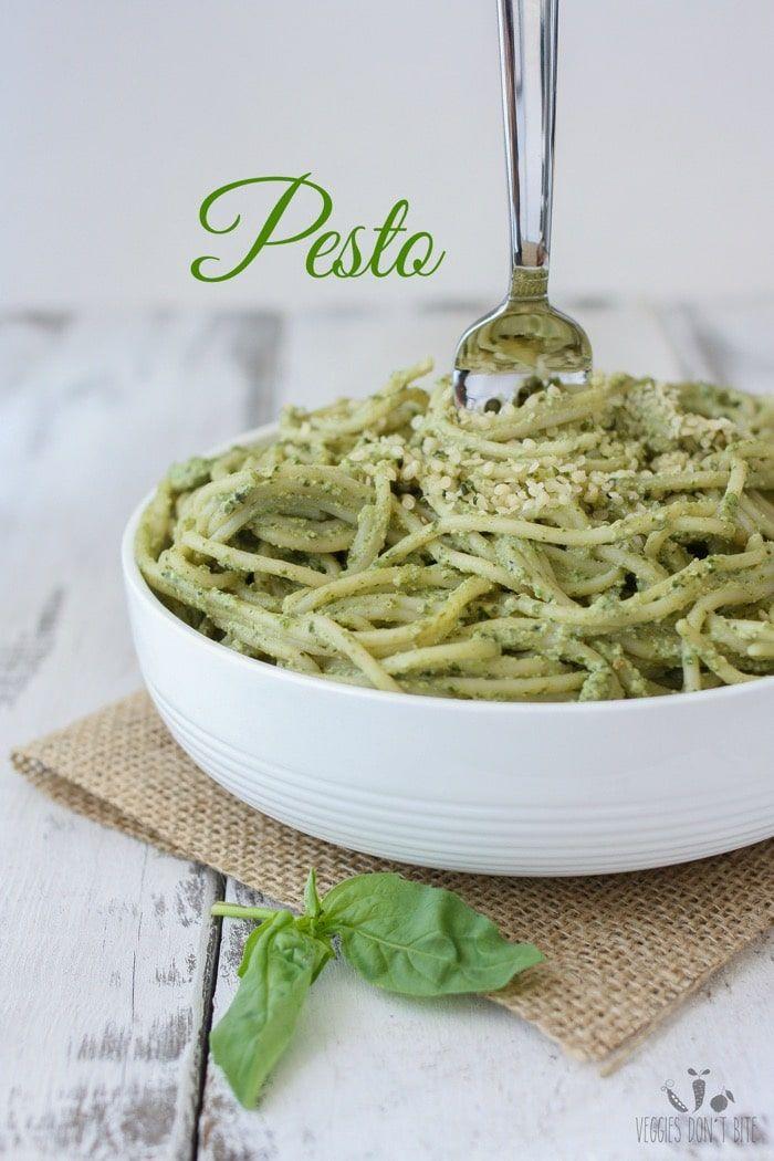 Lemon hemp seed pesto | www.veggiesdontbite.com | #vegan #plantbased #glutenfree via @veggiesdontbite