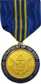 USA Navy Distinguished Civilian Service Award is the highest honorary award the secretary of the Navy can confer on a Department of the Navy civilian employee. The Navy Distinguished Civilian Service Award will be granted only to those employees who have given distinguished or extraordinary service. The achievements or service must be truly exceptional when measured against the position requirements of the employee and should far exceed the contributions and service of others with comparable…