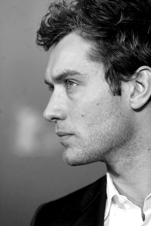 Jude Law. I wish I could marry him. Right now.