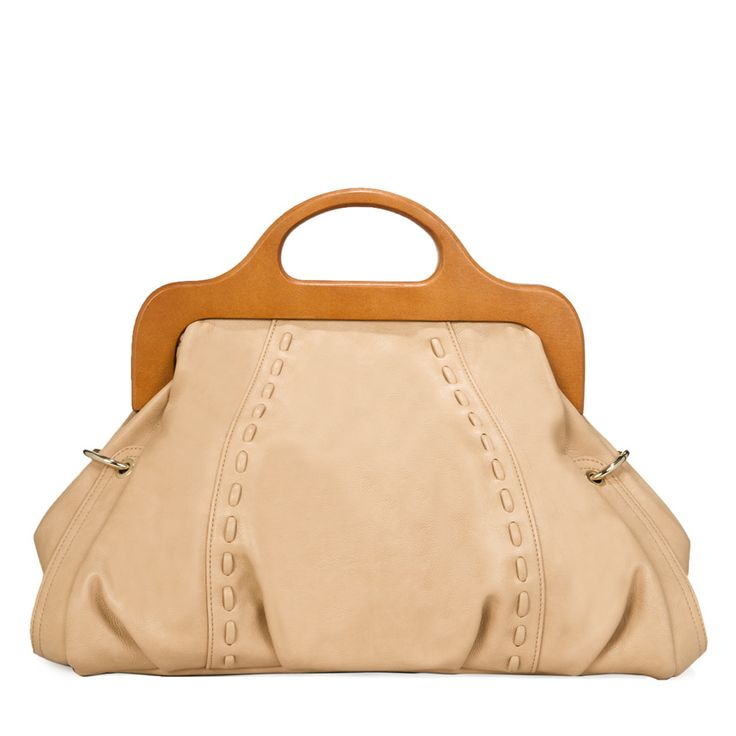 Pin to Win $500! Update your evening style with this tan satchel. Enter here: https://www.facebook.com/justfab/app_137377669785610?ref=ts