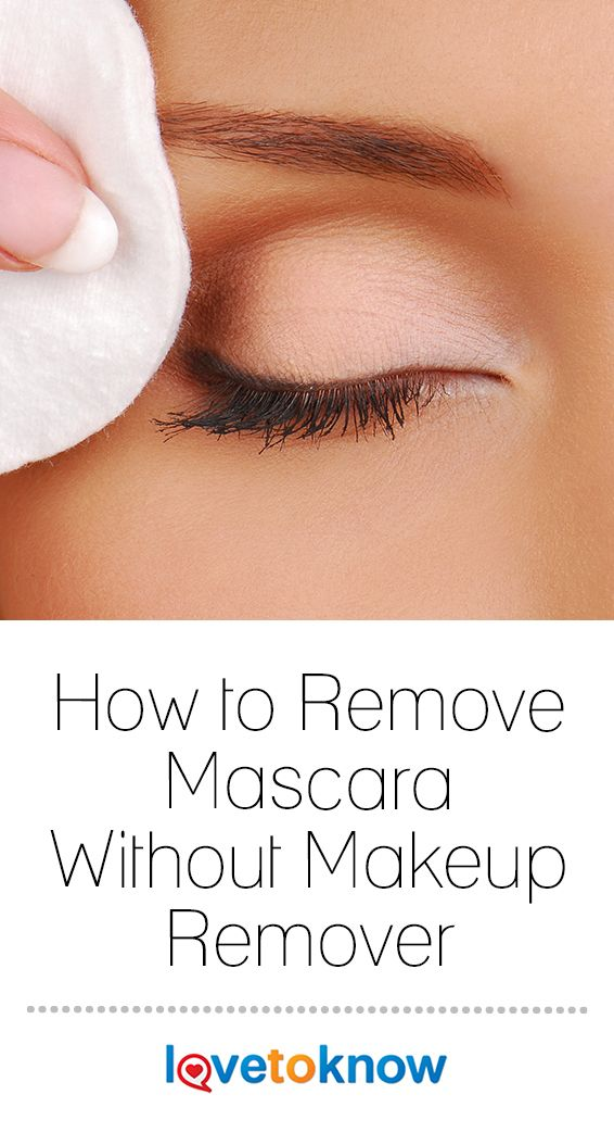 How To Remove Mascara Without Makeup Remover Lovetoknow Eye Makeup Techniques Without Makeup Mascara